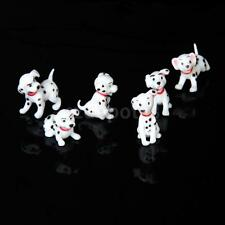 Dollhouse Miniature Dalmatian Dogs Puppy Pet Animals Fairy Garden Accessory