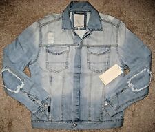 Calvin Klein Jeans.Trucker Denim Jacket.Men.L.Modern Casual.NWT.$108.Beach Down