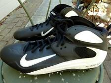 NWOB Men 16 M Nike AIR ZOOM BLADE PRO TD Black/White/Silver Football Cleat Shoes