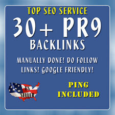 30+ PR9 Top Quality High PR Dofollow Backlinks SEO Service From Authority Sites