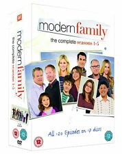 """MODERN FAMILY COMPLETE SEASON 1-5 COLLECTION DVD BOX SET 17 DISCS R4 """"NEW"""""""