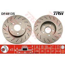 Bremsscheibe, 1 Stück TRW DF4813S