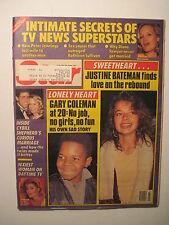 Star Magazine 1-19-1988. Justine Bateman! Y & R- Eileen Davidson Belinda Carlise