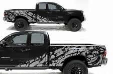 Vinyl Decal Nightmare Wrap Kit for Toyota Tacoma TRD 05-15 2D Long Bed - Silver
