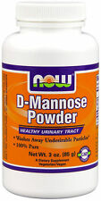 Now Foods D-MANNOSE Powder - 3 oz (42 Servings) URINARY TRACT & BLADDER HEALTH