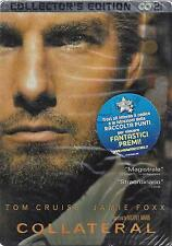 2 Dvd Steel Box Cofanetto **COLLATERAL** collector's edition con Tom Cruise 2004