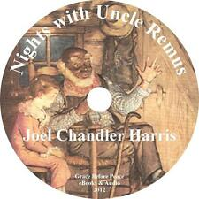 Nights With Uncle Remus, Childrens Audiobook Joel Chandler Harrison 11 Audio CDs