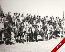 DRUZE VOLUNTEER CAVALRY SOLDIERS WORLD WAR 1 WWI PHOTO REAL CANVASART PRINT