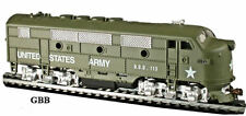HO Scale UNITED STATES ARMY F2-A DIESEL LOCOMOTIVE Model Power New 96813