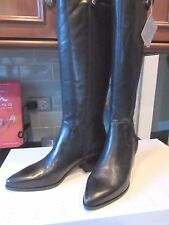 NEW Geox Lia Leather Womens Tall Riding Boots 9.5/10 M EU SZ 40