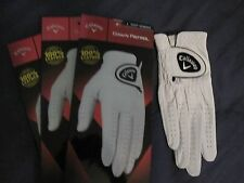3 WOMENS LARGE FOR A LEFT HAND GOLFER CALLAWAY DAWN PATROL LEATHER GOLF GLOVES
