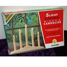 Vintage, 5 Light, Electric, Window Candolier, In Box, Woolworths, Made in USA