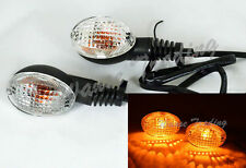 Turn Signals Blinker Bulb Light Clear For 2008-2012 KAWASAKI Ninja 250R EX250