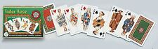 Tudor Rose Double Deck Bridge Size Playing Cards by Piatnik