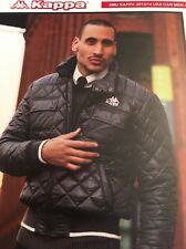 Kappa NWT Mens M & L Winter Jacket Parka Hood Black Padded Warm  Quilted Outdoor