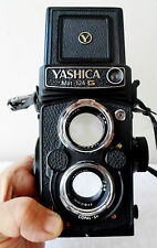 EXCELLENT Yashica MAT 124 G Medium Format TLR 6x6 w/ 80mm lens kit working