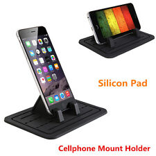 Car Dash Cellphone Mount Holder Silicon Pad Cradle for Glasses For iPhone & GPS