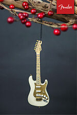 Officially Licensed Fender 50s Cream Stratocaster Mini Guitar Holiday Ornament