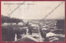 VICENZA MONTEBELLO VICENTINO 05 Cartolina viaggiata 1915