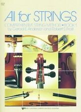 All For Strings Book 1: Violin, Gerald E. Anderson, Robert S. Frost, Acce Class