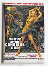 Slave of the Cannibal God FRIDGE MAGNET (2 x 3 inches) movie poster