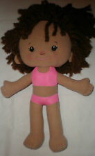 "Playskool Dressy Daisy Doll Hasbro 2007 08532 13"" Tall soft"