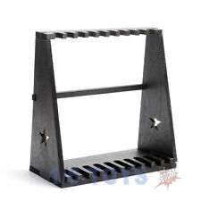 "1/6 DRAGON Model Figure Toy Wood Storage Rack for 10-Gun for 12"" Figures"