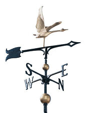 Canadian Goose Weathervane 2.5 ft tall with free MOUNT-Geese wildlife wind vane