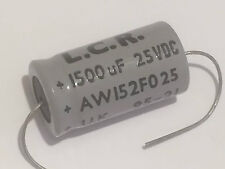 1500uF 25V LCR AXIAL ELECTROLYTIC AUDIO GRADE CAPACITOR    fbb29.5
