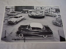1953 BUICK MOTORAMA SHOW DISPLAY  12 X 18 LARGE PICTURE / PHOTO