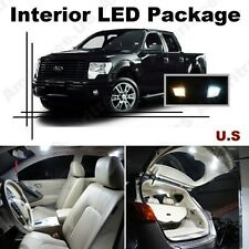 White LED Lights Interior Package Kit for Ford F250 F350 2011-2015 ( 9 Pcs )