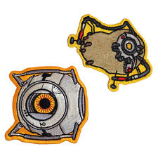 Portal 2 Space Core & POTaDOS [Set of 2] Iron/Sew On Patches Licensed Product