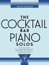 Cocktail Bar Solos The Ritz Collection Learn to Play Piano Guitar Music Book