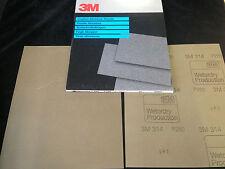 3M-314-Wetordry Schleifpapier 230x280mm P280 (25 Stk.)