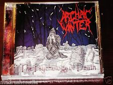 Archaic Winter: The Psychology Of Death CD 2006 Metalbolic Records MR004 NEW