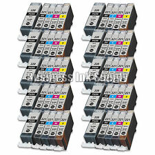 50 PACK PGI-220 CLI-221 Ink Tank for Canon Printer Pixma iP3600 iP4600 NEW