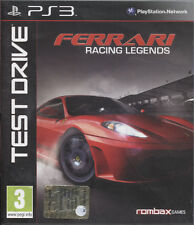 TEST DRIVE FERRARI RACING LEGENDS PS3 NUOVO, EDIZIONE ORIGINALE ITALIANA