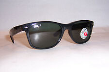 New RAY BAN Sunglasses WAYFARER 2132 901/58 BLACK/GREEN 55mm POLARIZED AUTHENTIC