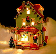 RETIRED 1st ED THE BUMPUS HOUSE A Christmas Story Dept 56 Ralphies neighbor dogs