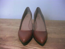 LOTUS LEATHER BROWN ORANGE LADYS SHOES SIZE 6(39)