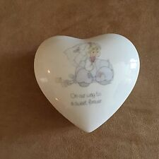 Trinket Box On our way to a sweet forever Married Precious moment wedding Enesco