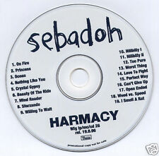 SEBADOH Harmacy 1996 UK 19-track promo CD Domino