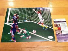 ICONIC SIGNED 8x10 w/ JSA COA - 2015 Woman's Soccer World Cup - Alex Morgan