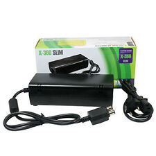 NEW AC Adapter Power Supply Cord Charger FOR XBOX 360 Slim Black Excellent