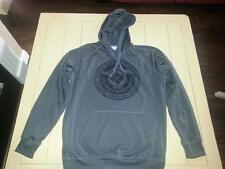 Men's COLUMBIA Hoodie Hooded Pullover Sweatshirt Gray Size Medium