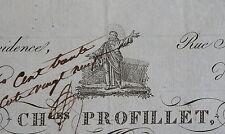 A LA PROVIDENCE RUE ST DOMINIQUE D'ENFER, PROFILLET, EPICERIE EN GROS,1832