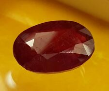 13.55CT African Ruby Natural 16x12x7mm Awesome Quality Gemstone for Ring Use 984