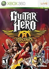 Xbox 360 Guitar Hero Aerosmith 2008  Video Game Sealed Steven Tyler Joe Perry