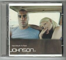 (GX928) Johnson O, Hard Mouth To Feed - 1998 CD