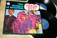 THE MOTHERS OF INVENTION - FREAK OUT! - VERVE - TOP PSYCH EXPERIMENTAL - ZAPPA